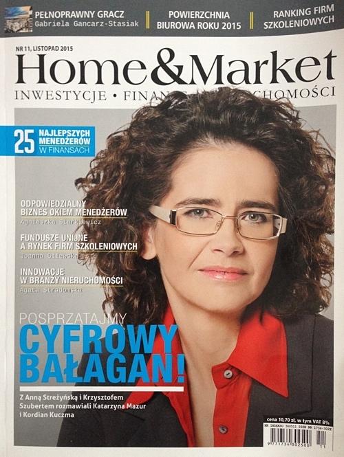"""W listopadowym numerze magazynu """"Home&Market"""" piszemy w imieniu wszystkich internetowych galerii sztuki, które już od dawna są ważnym elementem współczesnego rynku sztuki. Wirtualne galerie spopularyzowały sztukę i uczyniły ją bardziej dostępną dla każdego - bez względu na miejsce zamieszkania oraz możliwości finansowe."""