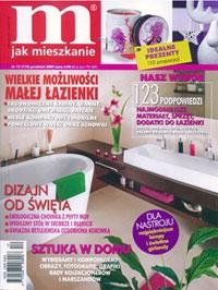 """""""Sztuka w domu"""" to temat z okładki grudniowego wydania """"M jak mieszkanie"""". Magazyn poświęca kilkanaście stron na porady dotyczące zakupu i ekspozycji dzieł sztuki – oczywiście nie zabrakło tu dzieł z ogromnej oferty artpower.pl, a także pojawiła się nasza wypowiedź..."""