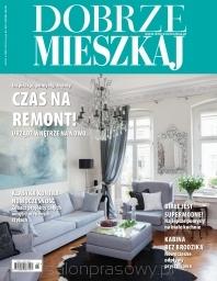 """W numerze 3/2014 """"Dobrze Mieszkaj"""" znajdziecie przykłady morskich inspiracji - jedną z nich jest obraz Julity Malinowskiej """"Joy I""""."""