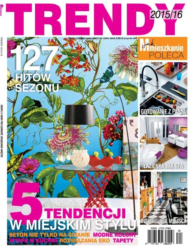"""Mieszkanie pełne sztuki to najnowsze trendy wnętrzarskie, które bardzo nas cieszą. W najnowszym magazynie TRENDY wydanym przez """"M jak Mieszkanie"""" znajdziecie przykład pięknego salonu, a w nim pełno prac z artpower.pl oraz dzieła szczególnie rekomendowane przez redaktorów pisma."""
