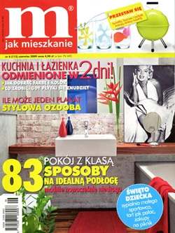 """W czerwcowym wydaniu miesięcznika """"M jak mieszkanie"""" ukazała się wypowiedź właścicielki galerii artpower.pl, Gabrieli Gancarz-Stasiak."""