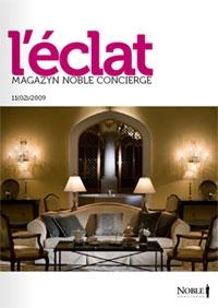 W najnowszym wydaniu magazynu l'Eclat dostępnego na stronach Noble Concierge, ukazał się artykuł na temat handlu sztuką w internecie przygotowany przez artpower.pl. Dodatkowo tekst prezentuje cztery prace z oferty galerii.