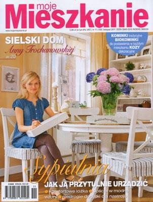 """Obraz Ewy Paulskiej z cyklu """"Kobiety"""" jest rekomendowany w najnowszym wydaniu magazynu """"Moje Mieszkanie"""" jako propozycja do wnętrza w stylu klasycznej elegancji."""