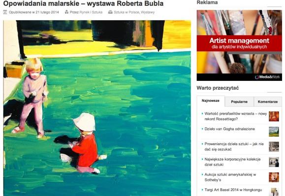 RiS: Wystawa Roberta Bubla