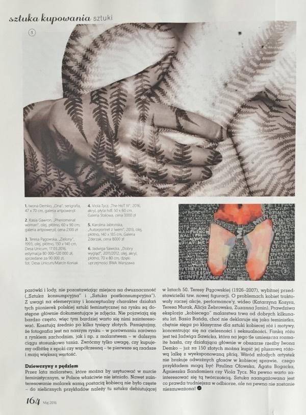 Czas na wnętrze: sztuka kobiet