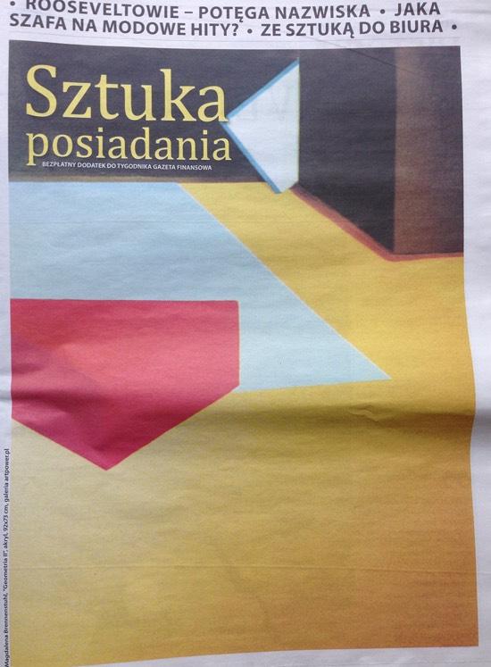 Gazeta Finansowa: Ze sztuką do biura