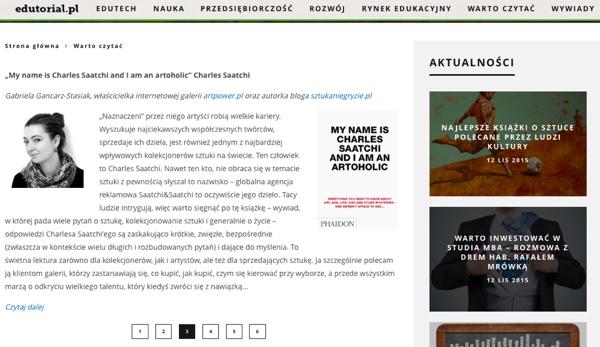 Edutorial.pl: Najlepsze książki o sztuce