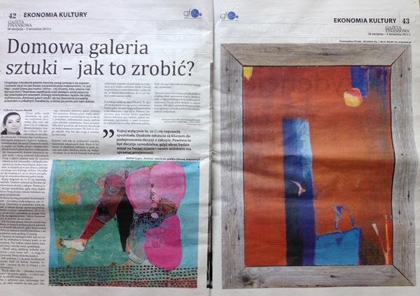 Gazeta Finansowa: Domowa galeria sztuki - jak to zrobić