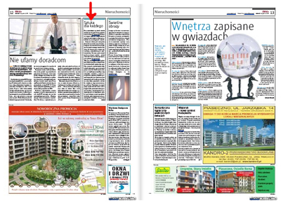 """artpower.pl w dzienniku """"Metro"""""""