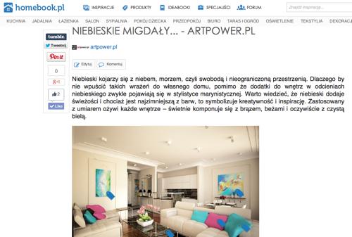 Dla Homebook.pl: Niebieskie migdały