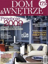 """artpower.pl w miesięczniku """"Dom & Wnętrze"""""""