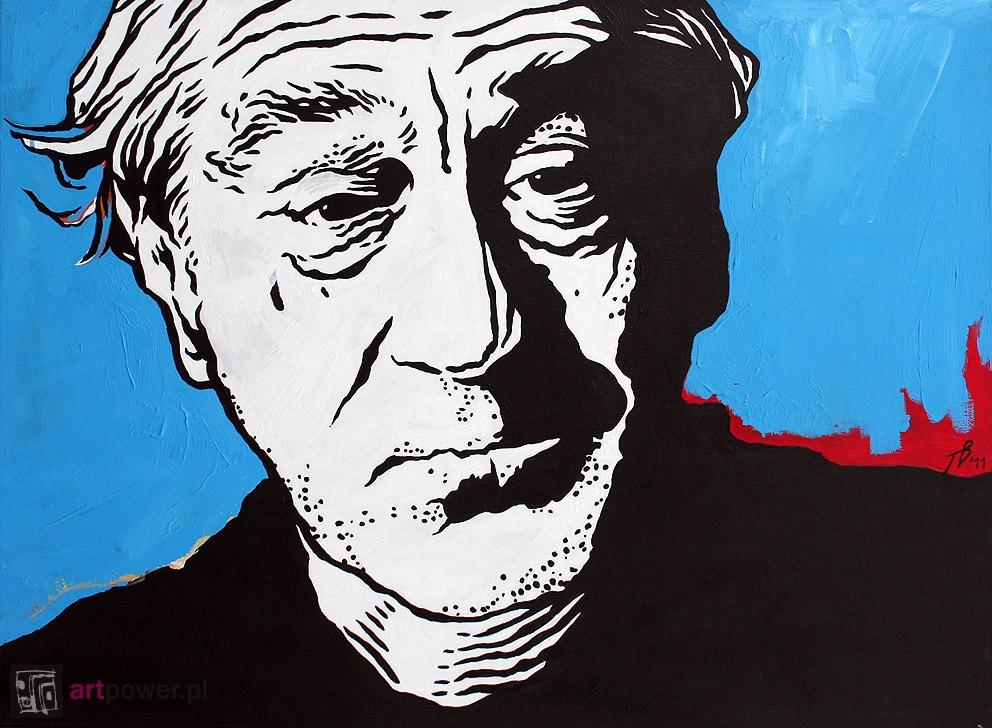Portret starszego mężczyzny