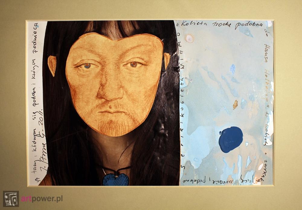 Kobieta trochę podobna do Hansa Holbeina