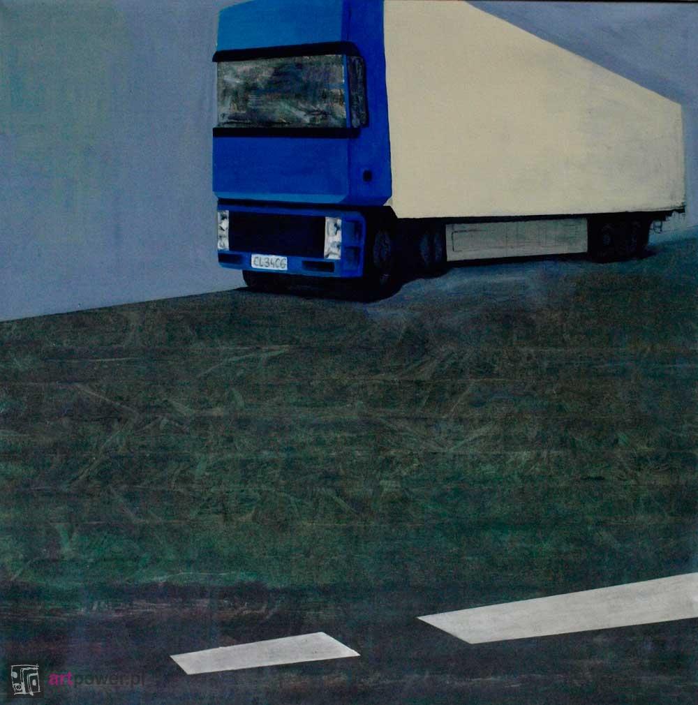 Transport czegoś po coś - ciężarówka na 12