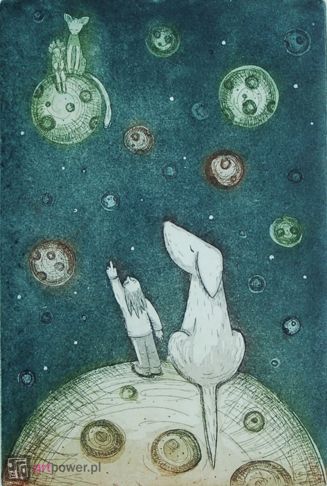 Mały Książę - kosmos