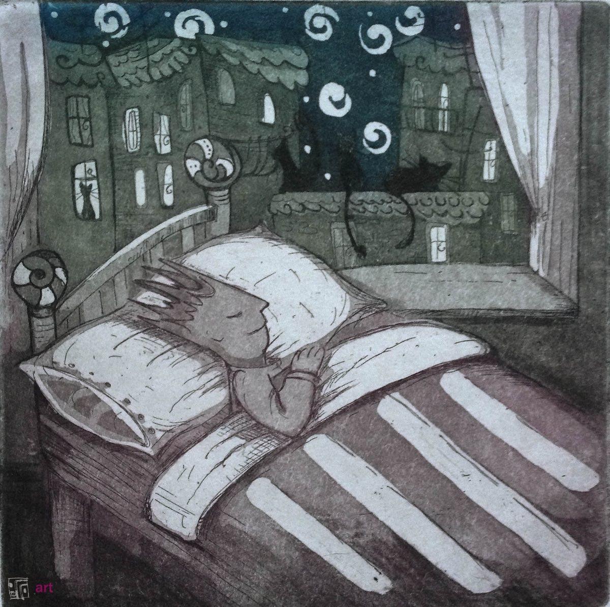 Mały Książę - noc