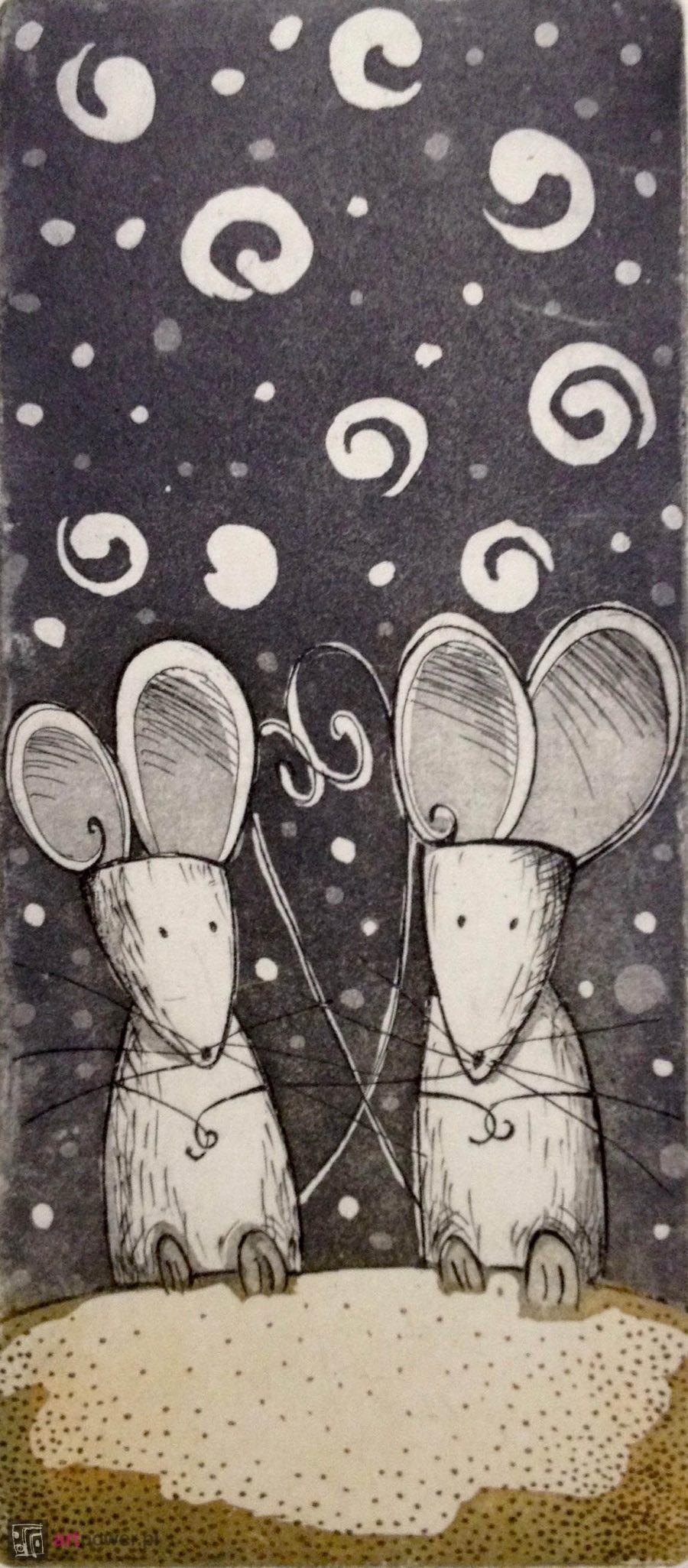 Myszy - w szarościach