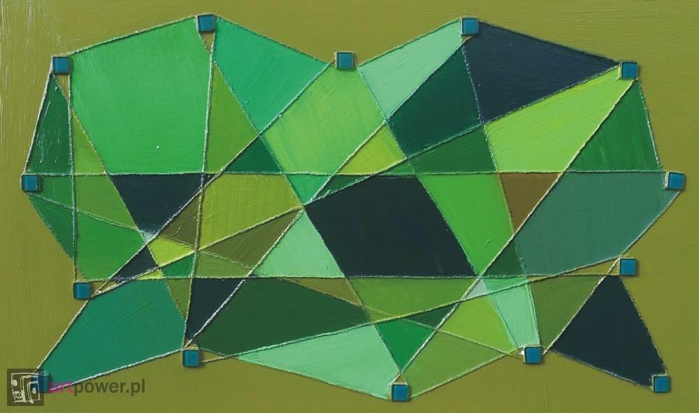 Kalejdoskop oliwkowy