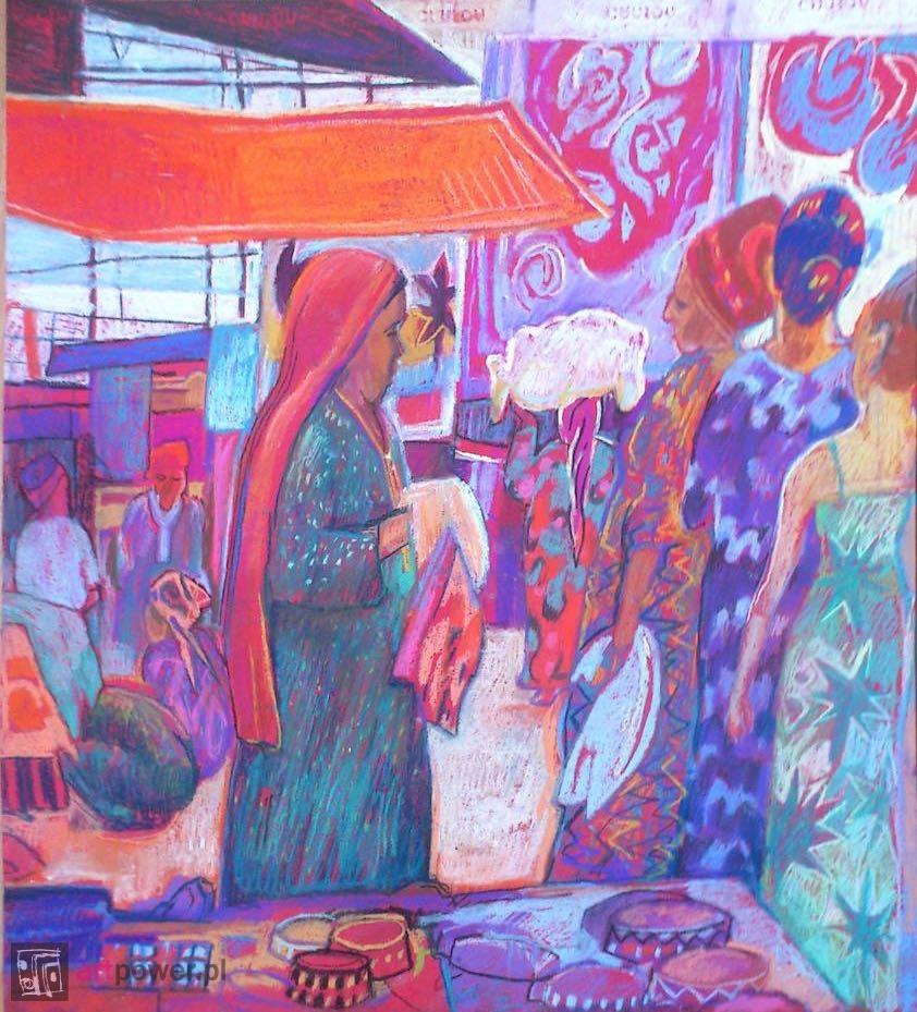 Handlowe rozmowy. Bazar w Aszchabadzie