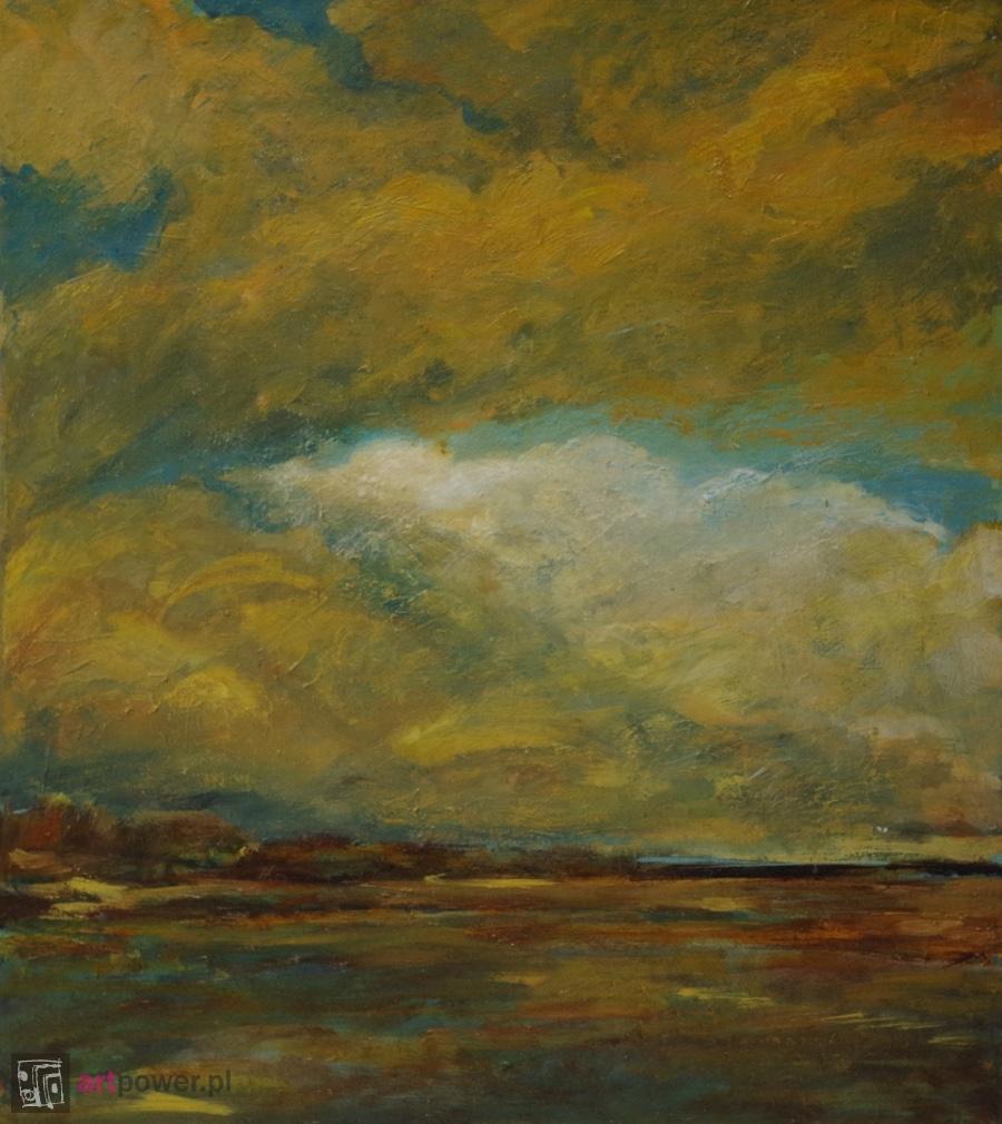 Chmury nad polaną