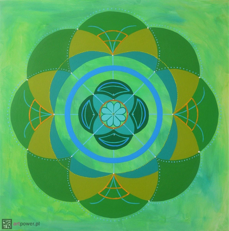 Mandala wiosenna