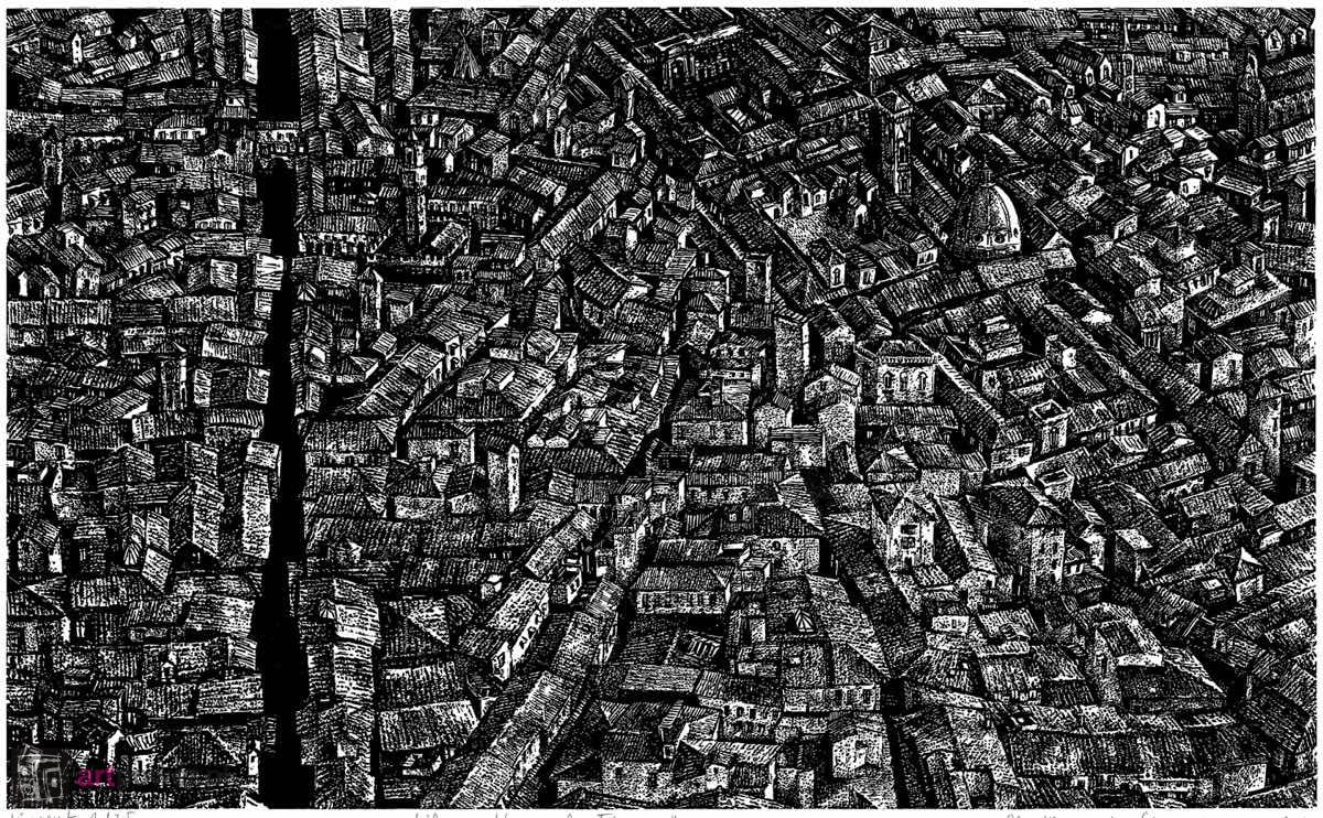 Życie na dachach - Florencja