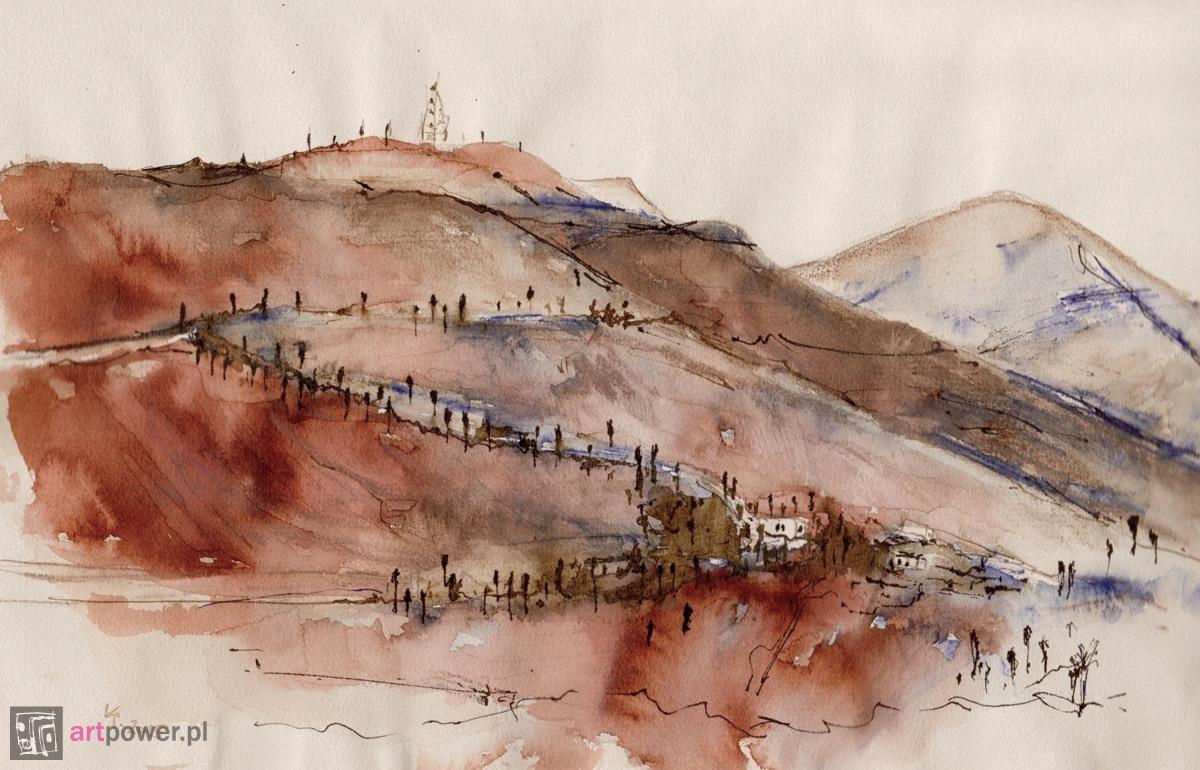 Fuerteventura - wzgórza