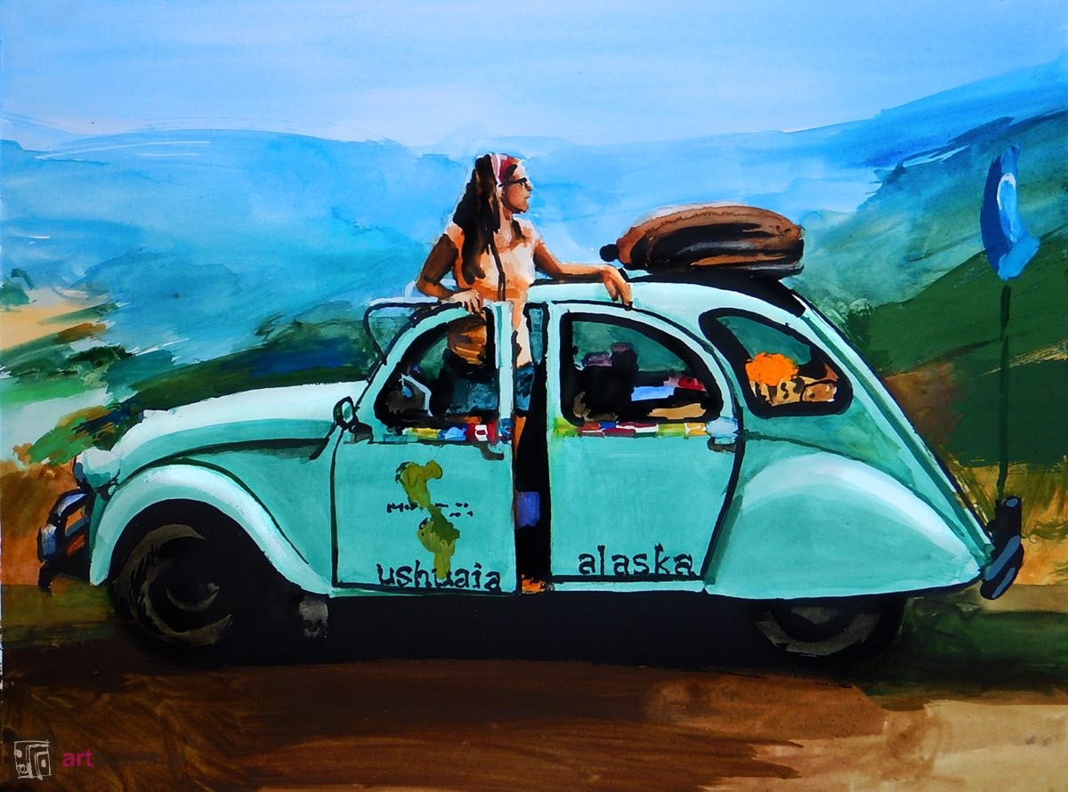 Podróż do przeszłości w Citroënie CV