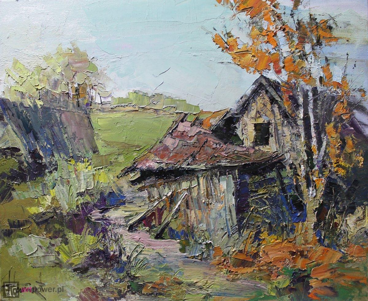 Porzucony dom na wsi 1