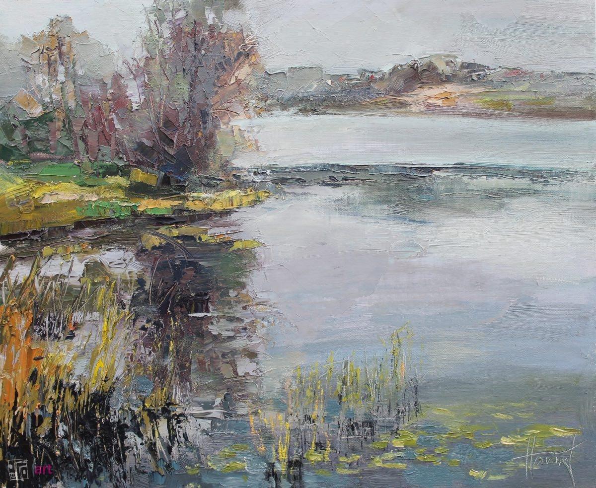Jesień nad rzeką 1