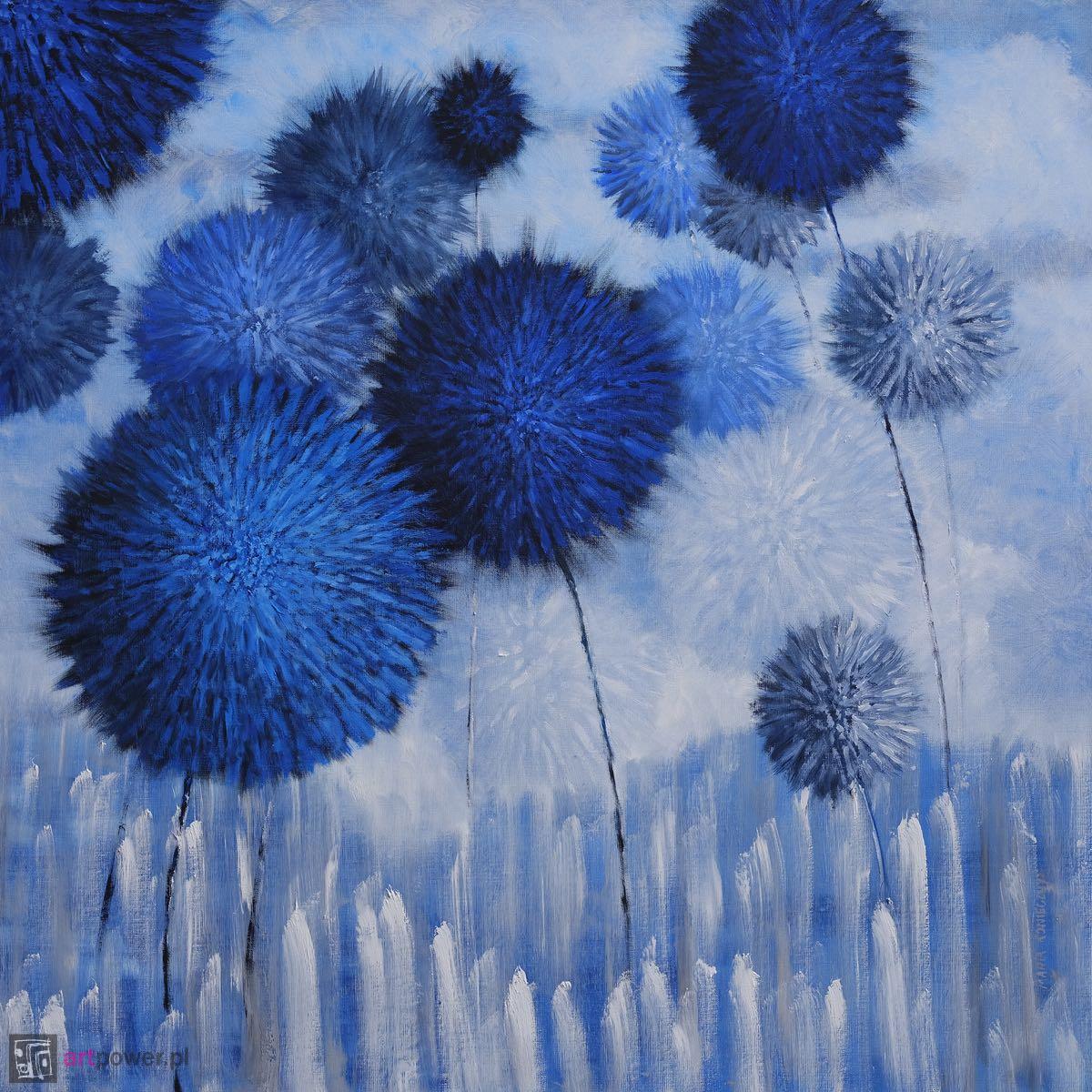 Pomponusy blue