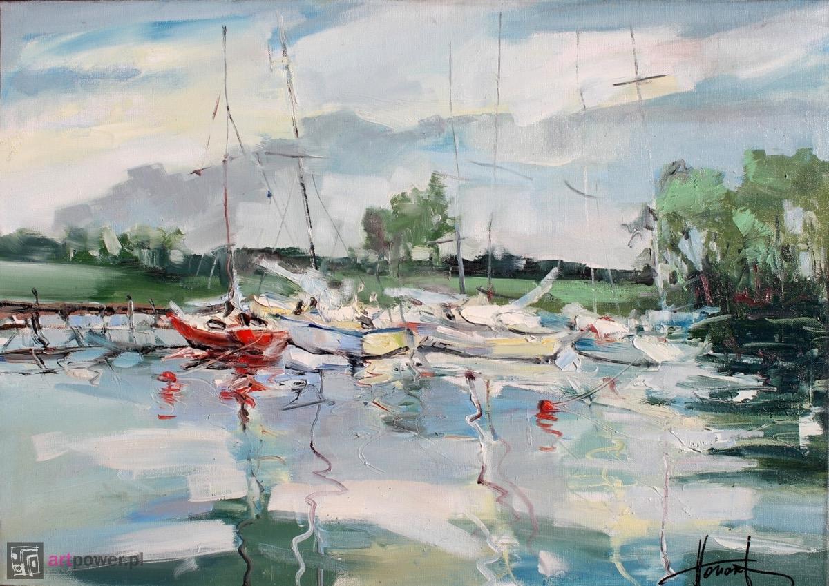 Jachty na jeziorze 4