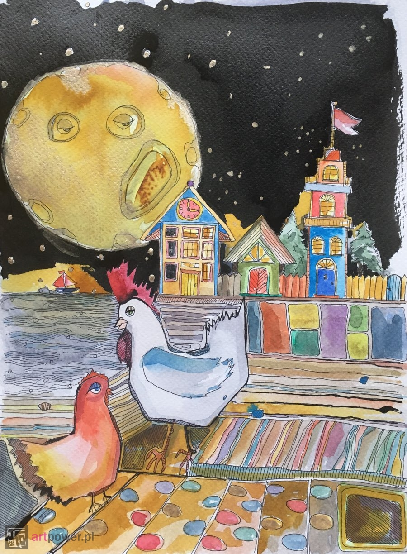Kogut pieje do księżyca