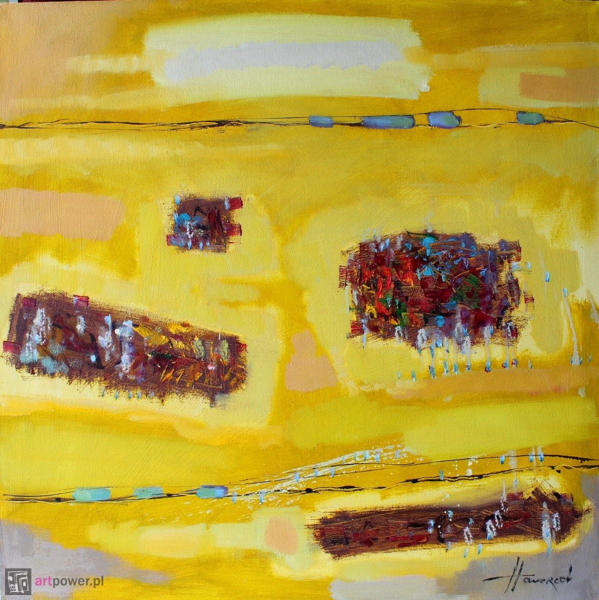Żółta galaktyka