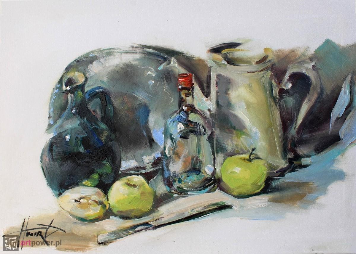 Martwa natura z jabłkami 2