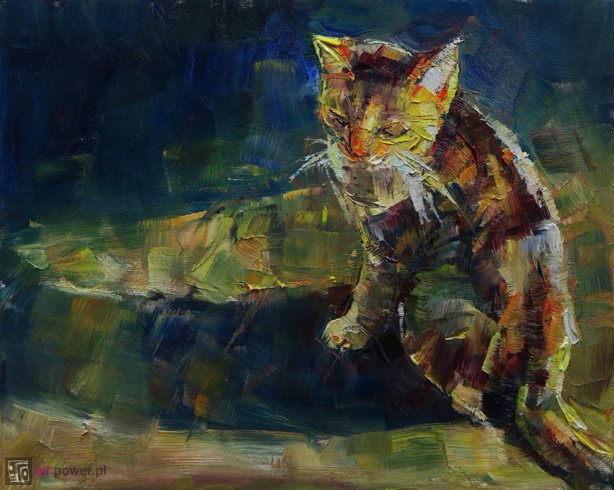 Kolorowy kot II