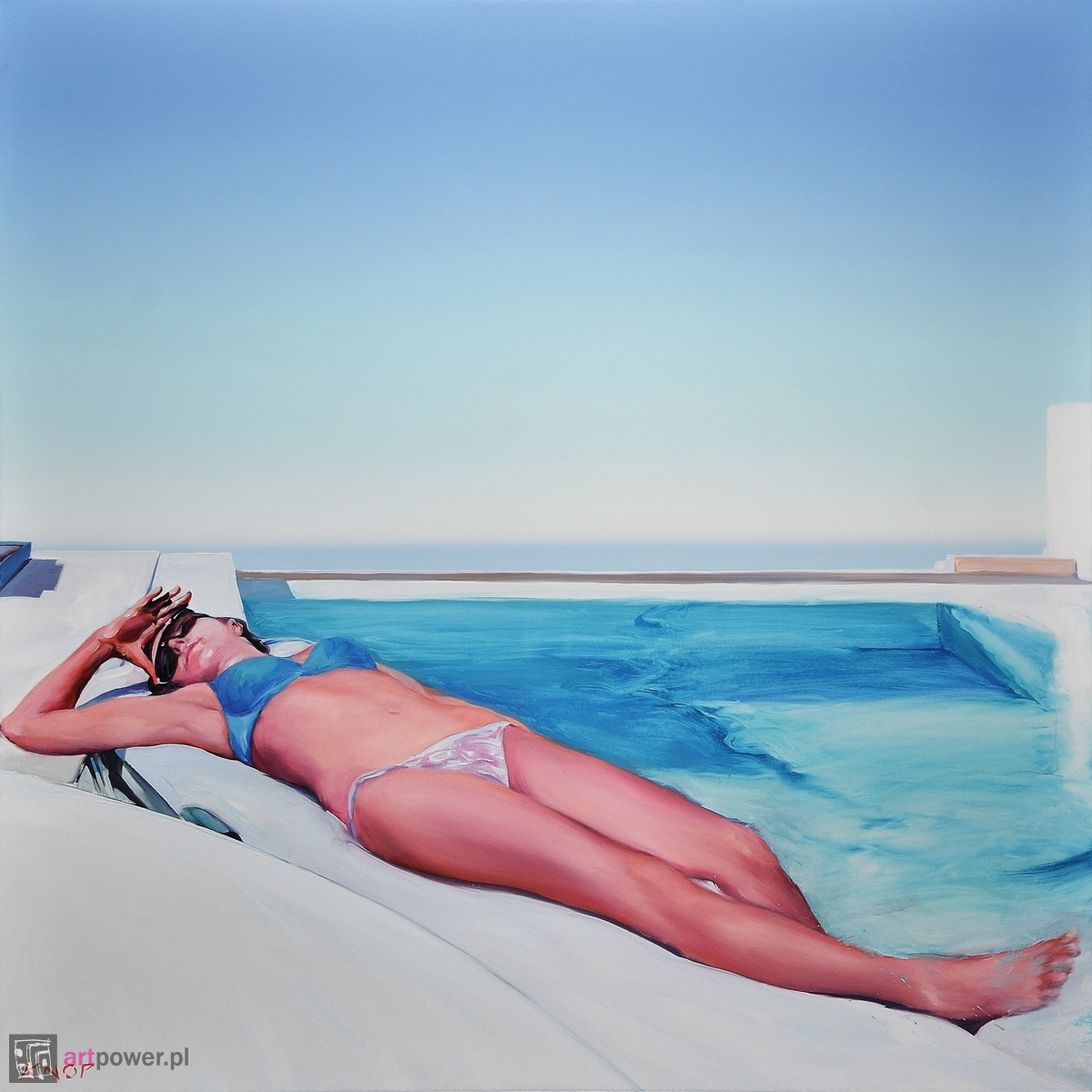Madame Ev15 z cyklu Swimming Pool