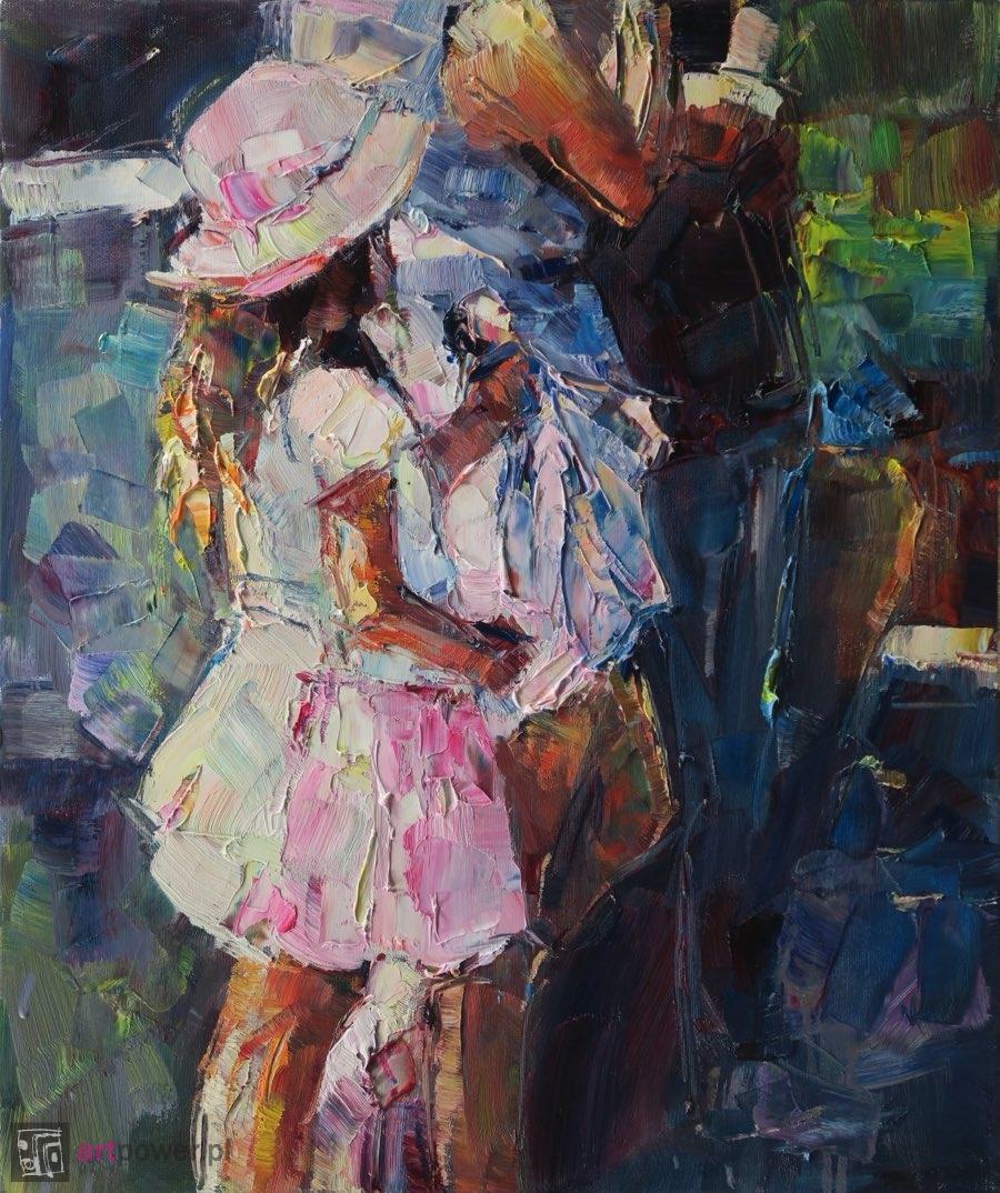 Dziewczynka w kapeluszu III
