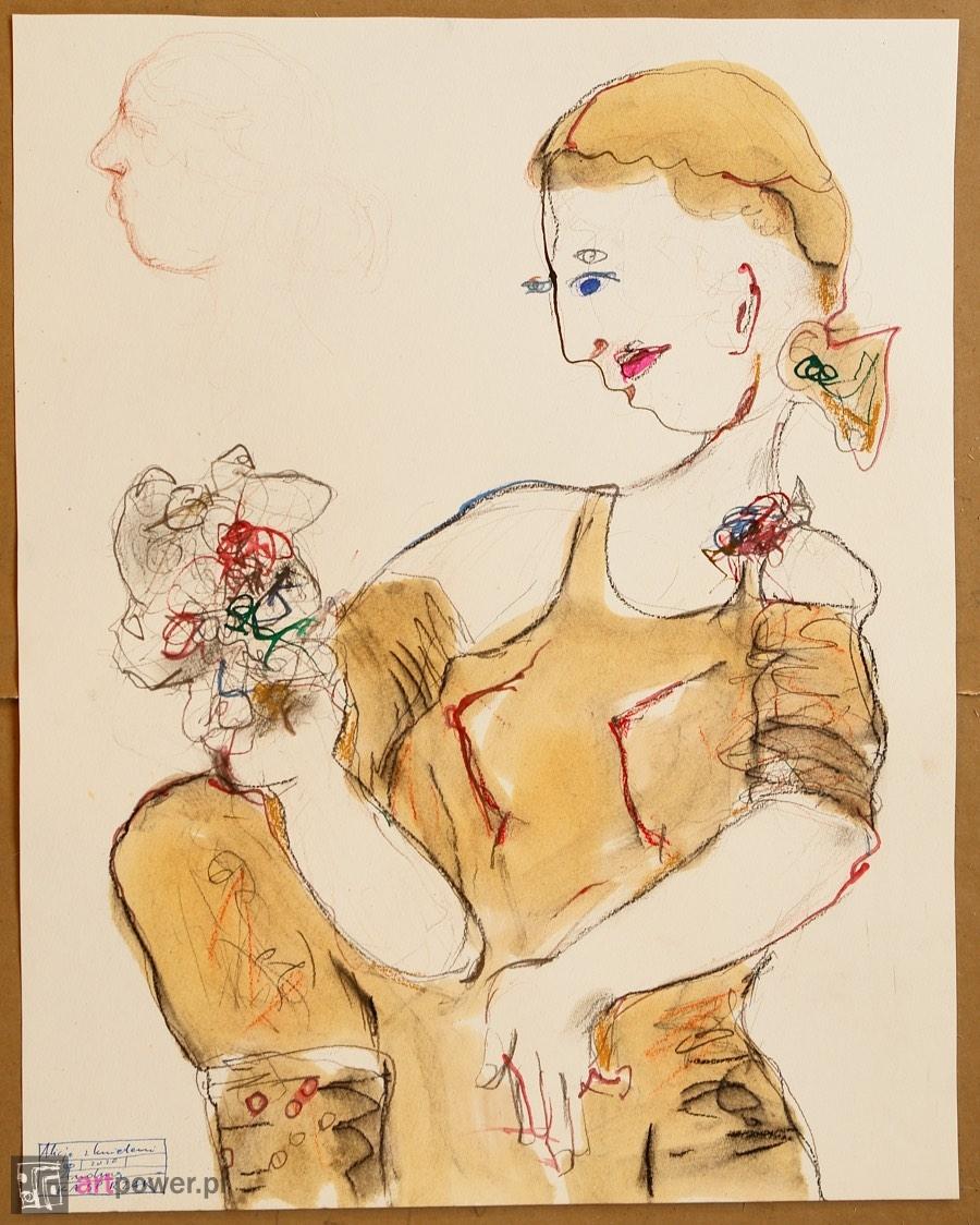 Alicja z kwiatami