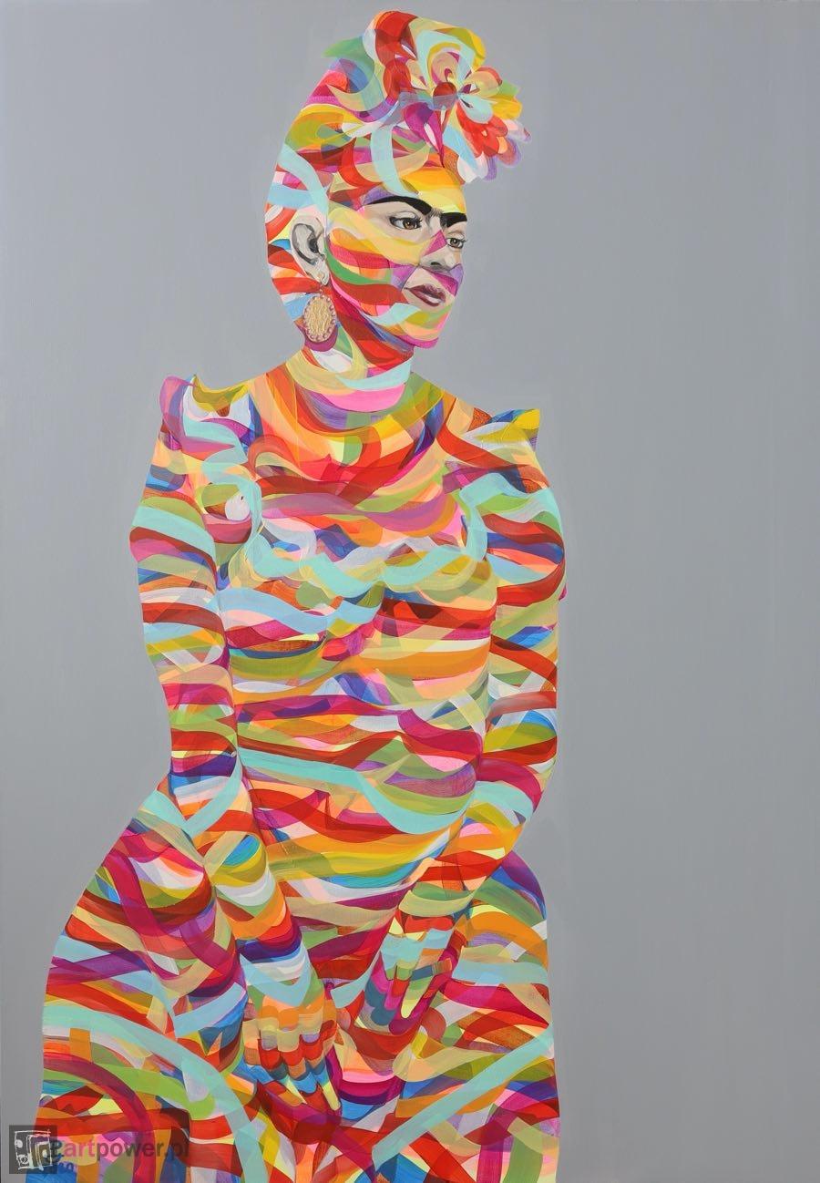 Zamyślona Frida