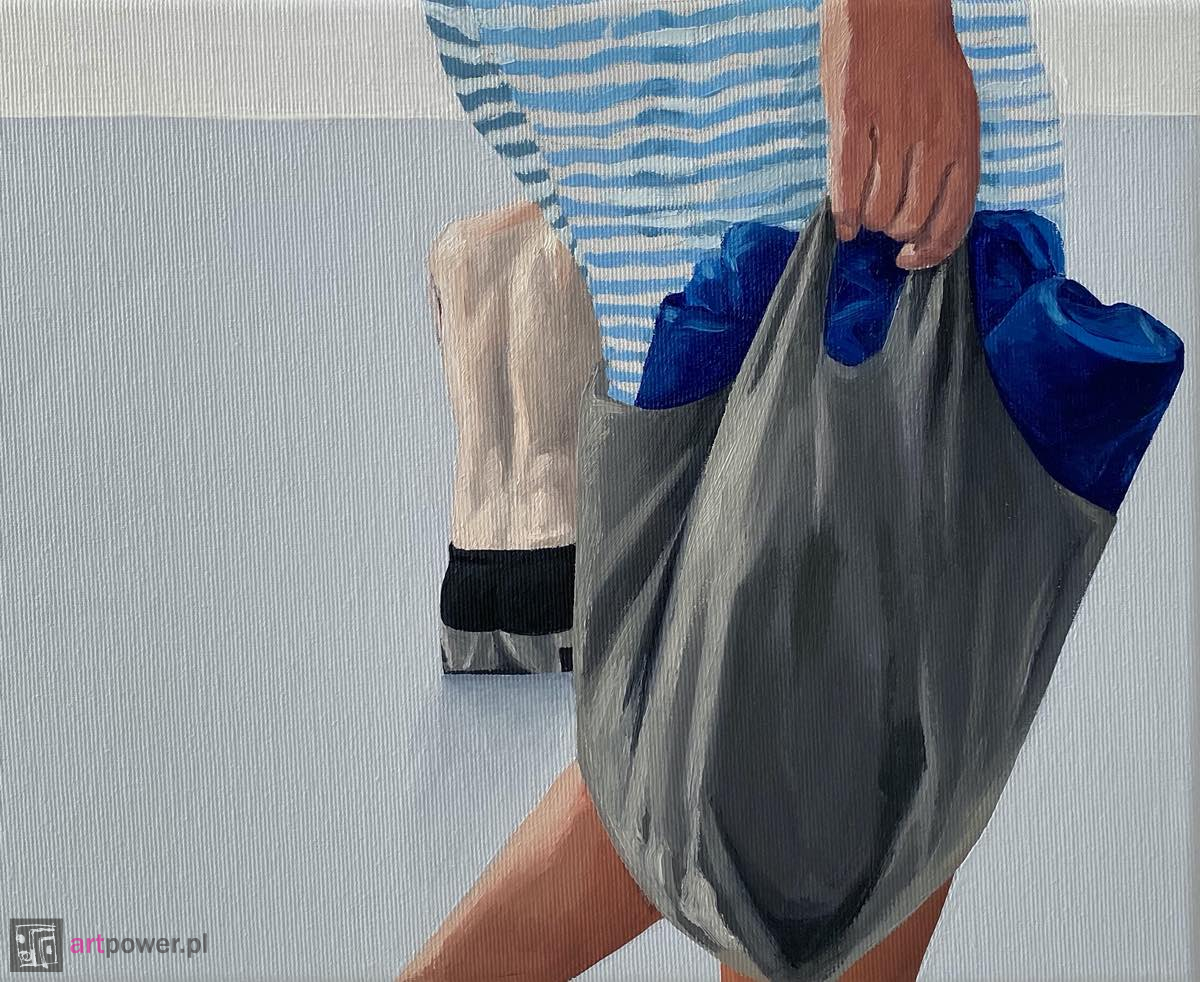 Escaping from the painting IX