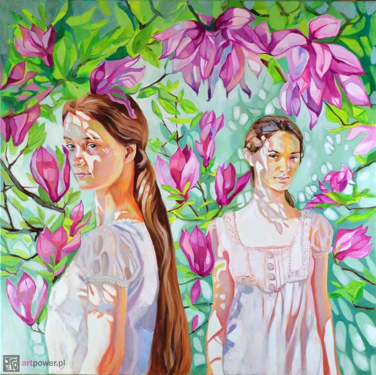 W cieniu magnolii