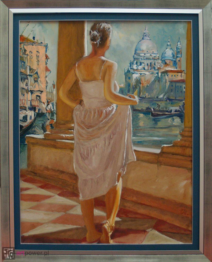 Spojrzenie na dawną Wenecję