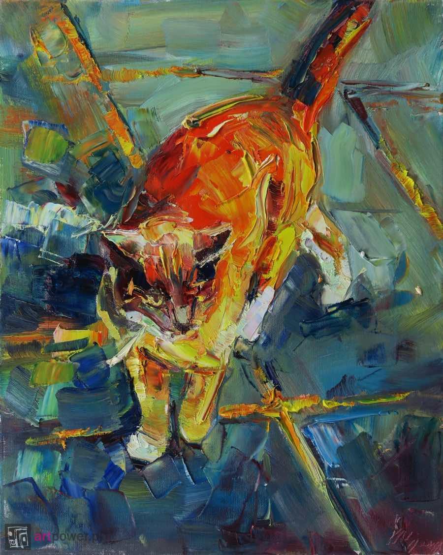 Kolorowy kot VI