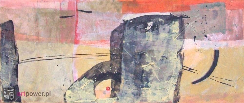 Pejzaż abstrakcyjny