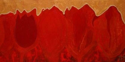 Modelowa czerwień z cyklu Tulpizm