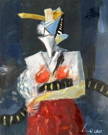 Portret z boa