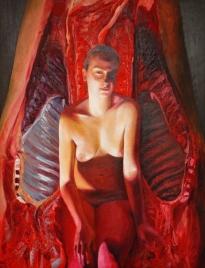Kobieta i czerwone mięso