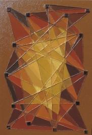 Kalejdoskop brązowy