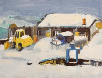 Pejzaż zimowy II